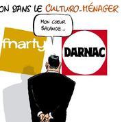 Le dessin d'Ixène: «Pour deux lave-linge achetés, un Houellebecq offert!»