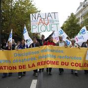 Réforme du collège : l'opposition doit continuer