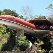 Un avion transformé en chambre d'hôtel au Costa Rica