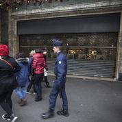 Attentats : les grands magasins ont baissé le rideau