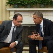 Hollande et Obama réaffirment leur combat commun contre l'Etat islamique