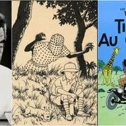 Tintin, toujours plus haut, dépasse le sommet de sa cote