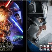 Star Wars ,Captain America, Zootopie ... Le cinéma fait ses BA