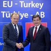 Accord entre l'Europe et la Turquie pour freiner l'afflux de migrants
