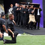 Hommage à Jonah Lomu: dernier haka pour une légende du rugby