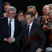 Sarkozy et Morinchargent Hollande