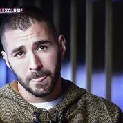 Ce que révèlent les mimiques de Karim Benzema sur TF1