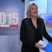 A Nîmes, Marine Le Pen met en garde contre «la submersion migratoire»