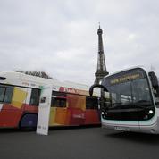 La RATP fait défiler ses bus propres