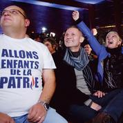 La joie à Hénin-Beaumont, ville où tout a commencé pour Marine Le Pen