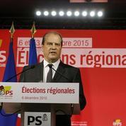 Au Parti socialiste, dimanche soir, l'ambiance des jours de crise
