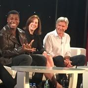 Star Wars VII :la force de balader les journalistes