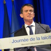 Manuel Valls accuse le FN de porter une laïcité «dévoyée» et «défigurée»