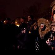 Madonna improvise un concert place de la République