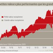 Marchés: encore une année faste pour les petites et moyennes valeurs