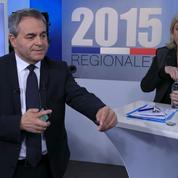 Nord-Pas-de-Calais-Picardie: l'affrontement Le Pen-Bertrand