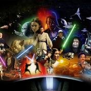 La famille Star Wars en huit personnages-clefs