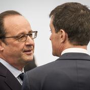 Hollande et Valls cherchent leur salut à droite