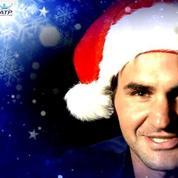 Federer et les stars de l'ATP vous souhaitent de bonnes fêtes