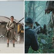 Box-office : les dinosaures de Jurassic World félicitent les Jedi de Star Wars