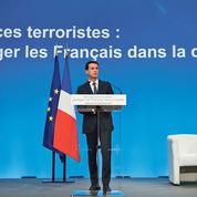 Valls propose un arsenal antiterroriste sans précédent