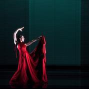 Blanca Li tombe de l'Olympe