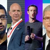 Quand quatre stars de l'Internet américain défient le CAC 40