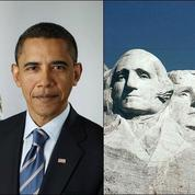 Barack Obama aimerait figurer sur le mont Rushmore