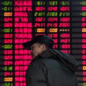 Les Bourses chinoises plongent, les marchés s'inquiètent