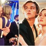 Leonardo DiCaprio et Kate Winslet, réunis 20 ans après Titanic
