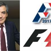 François Fillon s'inspire du logo de la F1 pour sa campagne