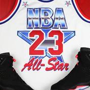 Un maillot collector de Michael Jordan datant de 1991 réédité