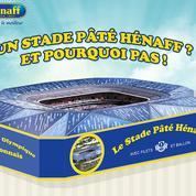 Pâté Hénaff «propose» son nom pour le nouveau stade de Lyon