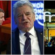 Macron sur l'assurance chômage, Davos, travail dominical à la Fnac : le récap éco du jour