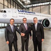 Lufthansa met en service le premier Airbus A320neo
