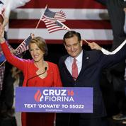 Primaires américaines : Carly Fiorina, l'atout «business» de Ted Cruz