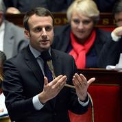 Pour Macron, «la vie d'un entrepreneur est plus dure que celle d'un salarié»