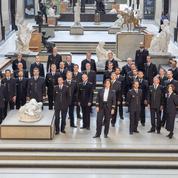La garde républicaine en fanfare à Orsay