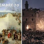 Titus réduit en cendres le Temple de Jérusalem