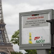 Des affichages publicitaires «grand format» à l'approche de l'Euro 2016