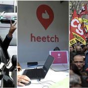 Taxis, Heetch, fonctionnaires : le récap éco d'une journée de grève