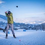 Swing sur neige à Megève