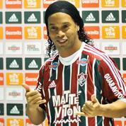 Ronaldinho évite de peu un grave accident de circulation en Inde