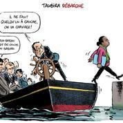 Le dessin d'Ixène: «Taubira débarque»