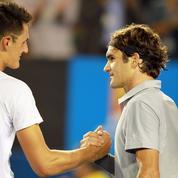 Federer reconnait avoir «été dur» et s'excuse envers Tomic