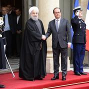 Quelles entreprises ont profité de la visite du président iranien ?