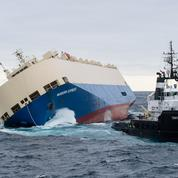 Remorqué, le cargo Modern Express ne risque plus de s'échouer sur les côtes françaises