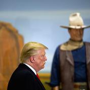 Donald Trump, dans l'ombre de John Wayne