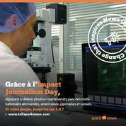 Sparknews lance son appel à projets pour l'Impact Journalism Day 2016