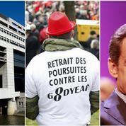 Croissance, manifs, Sarkozy : le récap éco du jour